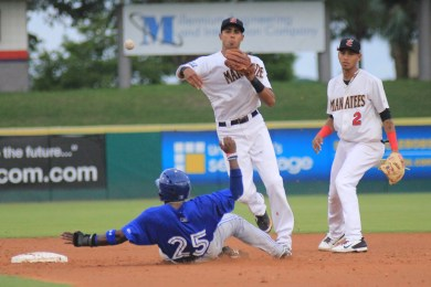 INF Yadiel Rivera (pictured) and RHP Greg Holle have been called up to Double-A Huntsville over the last 24 hours.