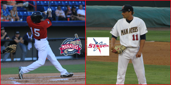 Outfielder Tyrone Taylor (left) and Left-handed pitcher Mike Strong (right) were transferred to Double-A Huntsville this afternoon.